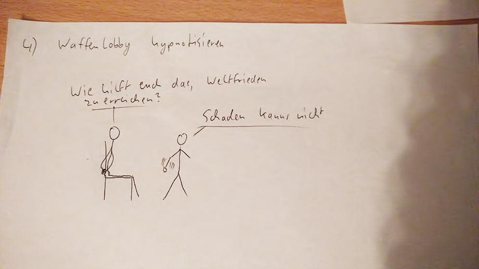 Jede Idee, die mit Hypnose zu tun hat ist eine gute Idee in meinem Buch.